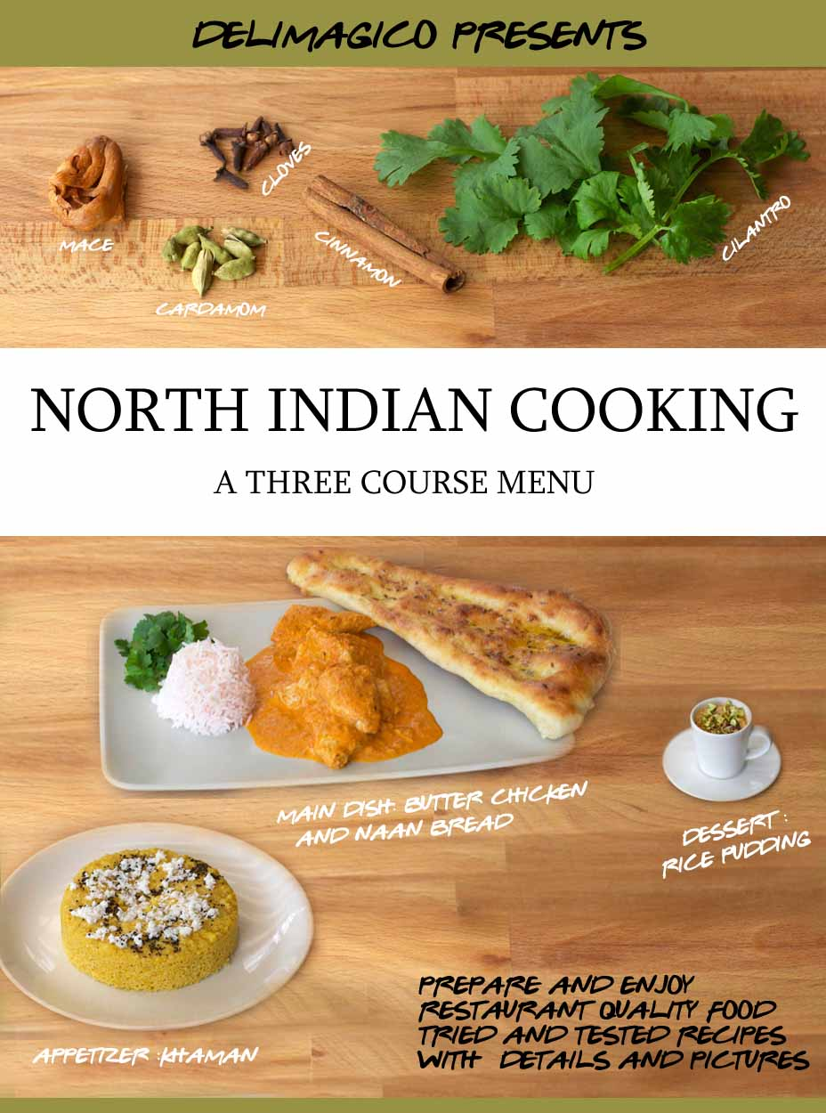 North Indian Cooking - A Three Course Menu